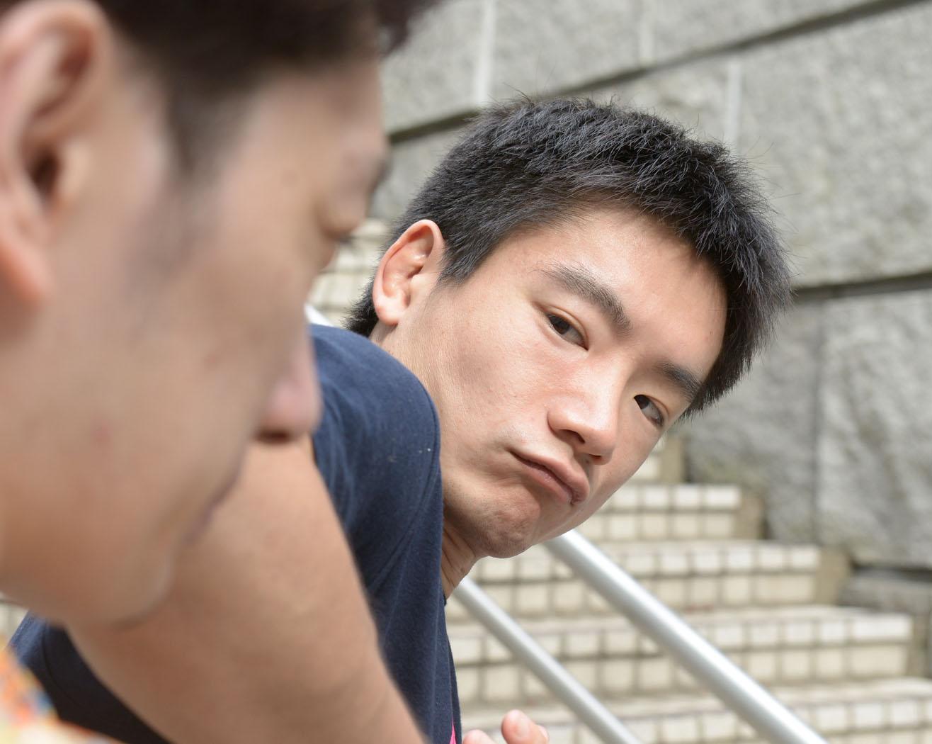 竹川選手肘