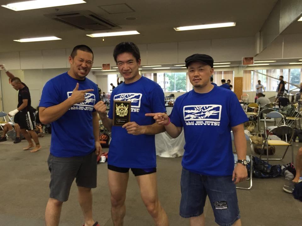 竹川光一郎選手ヨウチ柔術